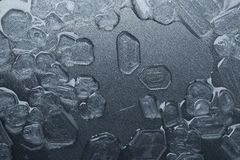 Salt crystals background Royalty Free Stock Image