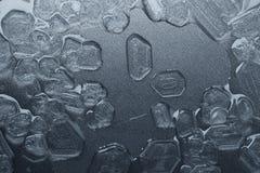 Salt crystals background Royalty Free Stock Image