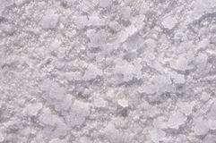 Salt crystals close up Stock Images