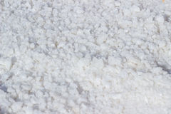 Salt crystals Royalty Free Stock Photo