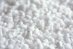 Salt crystals macro Royalty Free Stock Photo