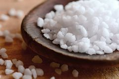 Salt crystals Stock Photos