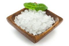 Salt crystals Royalty Free Stock Photo