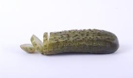 Salt cucumber. Royalty Free Stock Photo