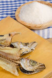 Salt cured whiting Royalty Free Stock Photography