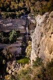 Salt de Sallent waterfall Stock Images