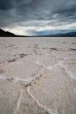 salt delar för badwaterhandfat Royaltyfri Foto