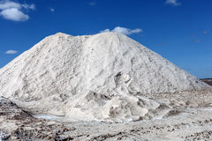 Salt deposit Royalty Free Stock Photography