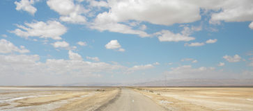 Salt Desert Royalty Free Stock Photography