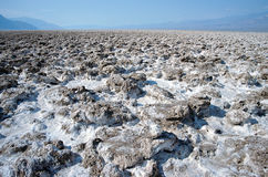 Salt desert of death valley. Salt desert of white death valley, USA Stock Photo