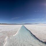 Salt desert in the Jujuy Province, Argentina Stock Images