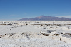 Salt desert in the Jujuy Province, Argentina Stock Photo