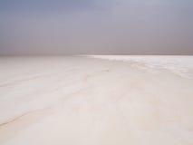 Salt desert and lake, Ethiopia Stock Image