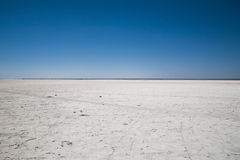 Salt desert Royalty Free Stock Images