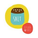 Salt design Stock Image