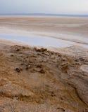 Salt dry lake Stock Photography