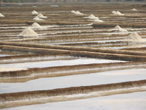 Salt salt extraction food industry India. Baths with salt salt extraction food industry India, Karnataka, Gokarna, March, 2017 stock photos