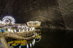 Salt extraction Turda Stock Image
