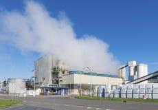 Salt fabrik royaltyfri fotografi