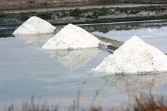 Salt farm Royalty Free Stock Photo