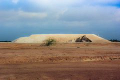 Salt farm Stock Photography