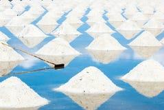 Salt Farm, Phetchaburi Stock Photography