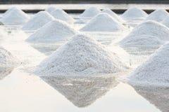 Salt farm Royalty Free Stock Image