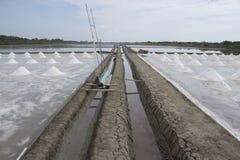 Salt farm Stock Photo