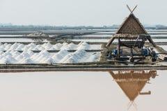 Salt farm Royalty Free Stock Photos