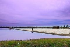 The salt farm. Stock Photography