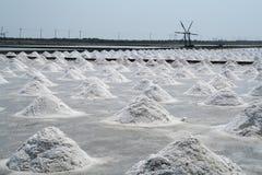 Salt-Field Royalty Free Stock Photo