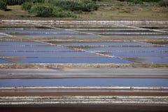 Salt Fields Stock Photos
