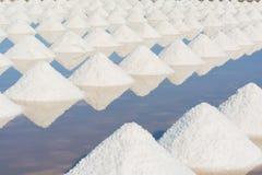 Salt fields Royalty Free Stock Photo