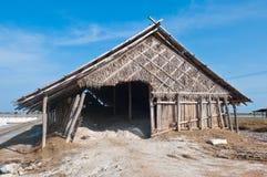 Salt fields in Thailand. Stock Images