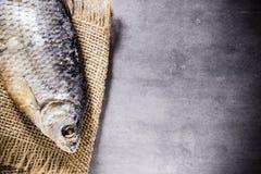 Salt fish. Stock Photos
