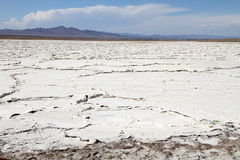 Salt flat Royalty Free Stock Images