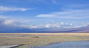 Salt Flat in Atacama Desert in Chile #3 Royalty Free Stock Images