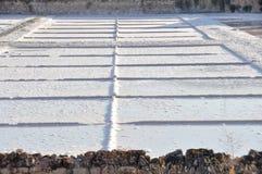 Salt flat of Imon, Guadalajara (Spain) Stock Image