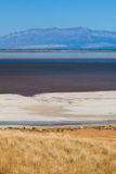 Salt flats Stock Photo