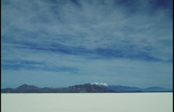 Salt Flats Stock Images