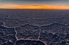 Salt flats, bolivia Stock Images