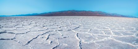 Free Salt Flats Of Badwater Basin, Death Valley, California Royalty Free Stock Image - 162724106