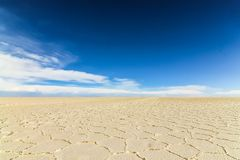 The salt flats in Salar de Uyuni stock images