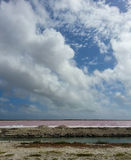 Salt Flats Stock Photography