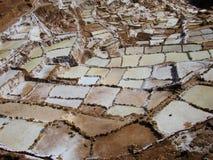 Salinas de Mara. Salt flats at Salinas deMara, Peru Royalty Free Stock Image