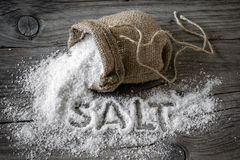 Salt Royalty Free Stock Photo