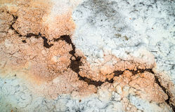 Salt formation Royalty Free Stock Photo
