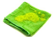 salt handduk för bad Fotografering för Bildbyråer