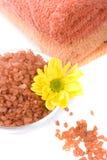 salt handdukar för blomma Royaltyfria Foton