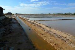 salt hav för lantgård Arkivbild